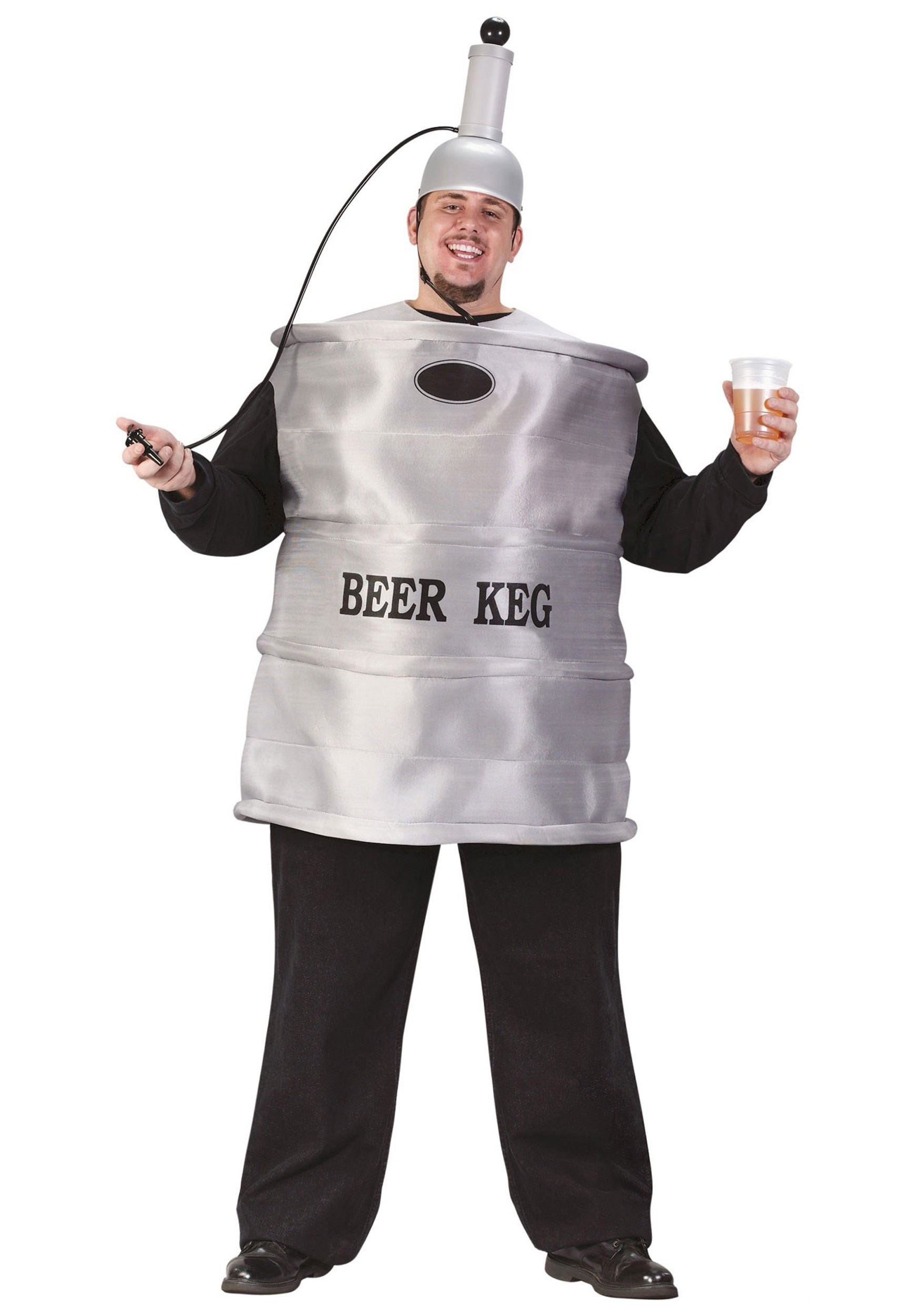 Plus Size Beer Keg Party Costume - Adult Beer Costumes for Halloween