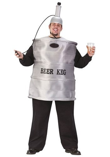 Plus Size Beer Keg Party Costume