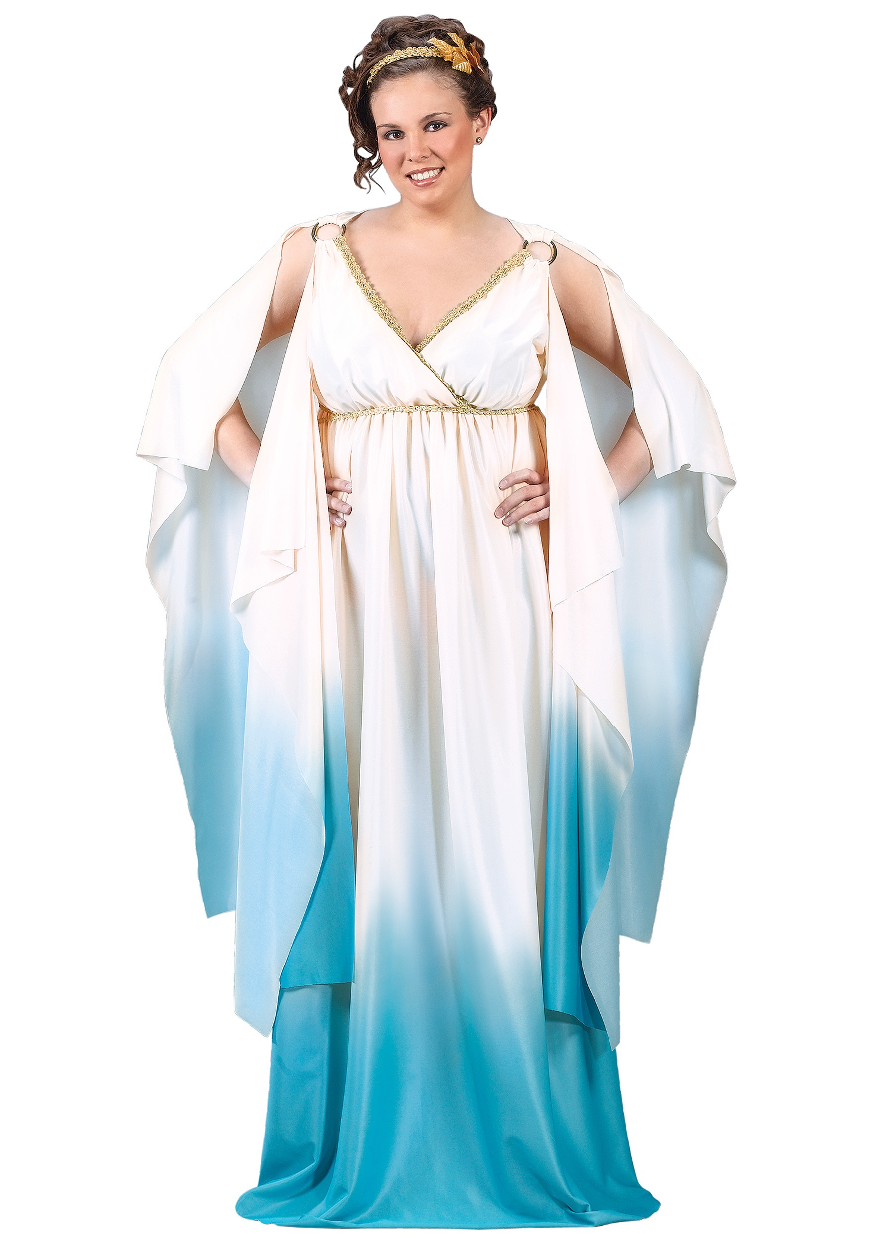 Plus Size Aphrodite Costume - Womens Plus Size Greek ...Greek Goddess Aphrodite With Clothes