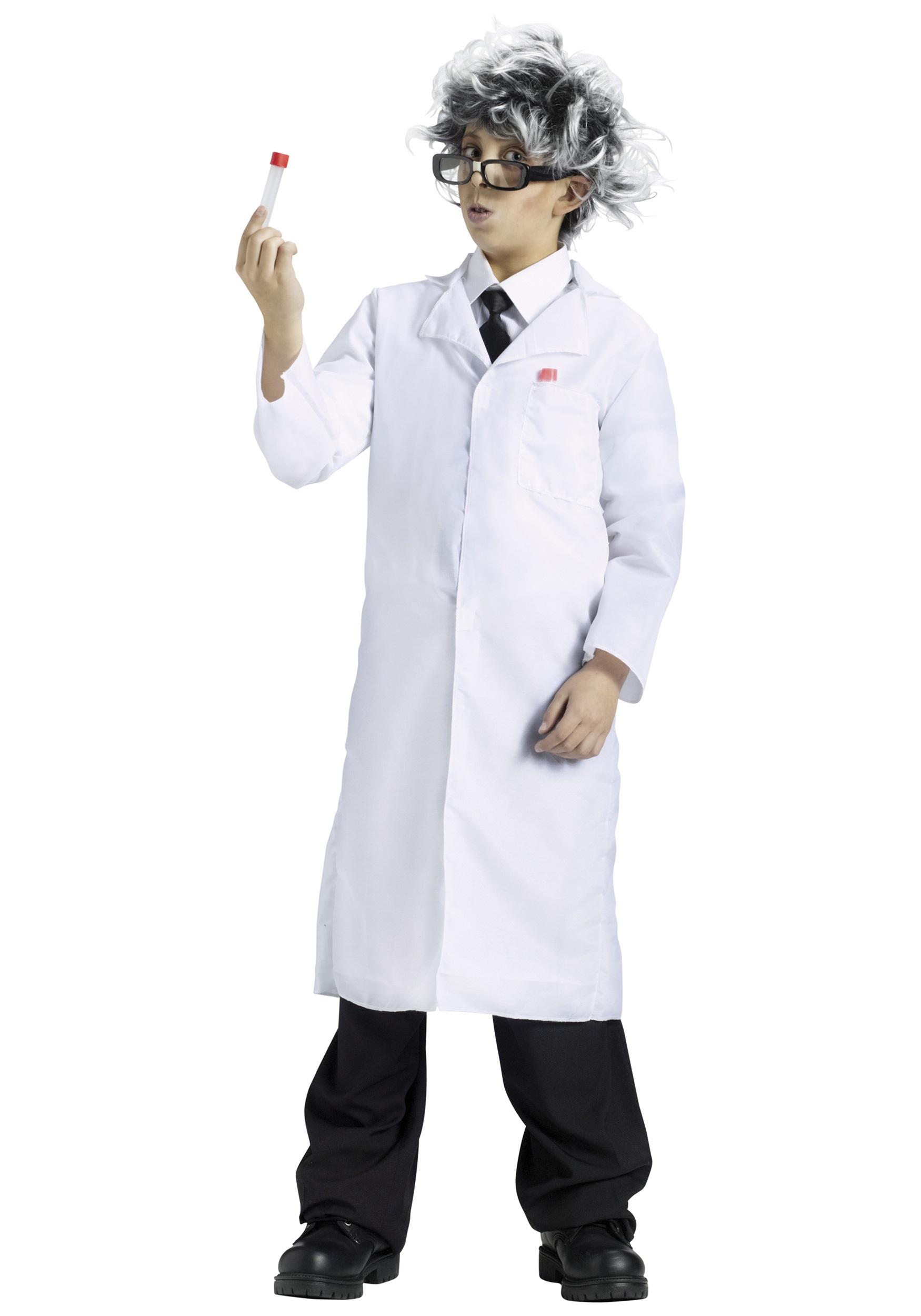 Science Guy Lab Coat Doctor Costume Ideas Kids