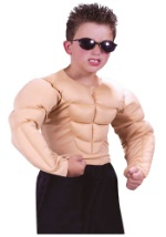 Boys Muscle Chest Shirt