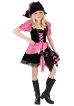 Childs Pink Punk Pirate Costume