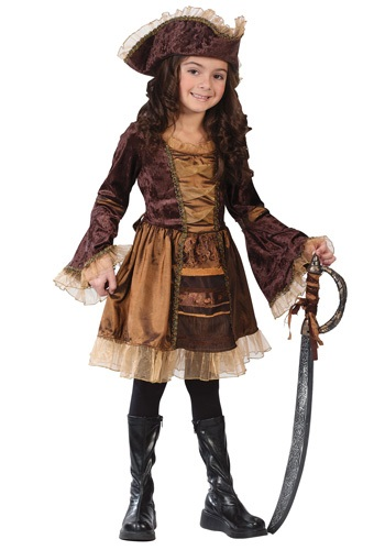 Child Classic Victorian Pirate Costume