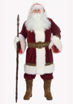 Mens Deluxe Old Time Santa Costume