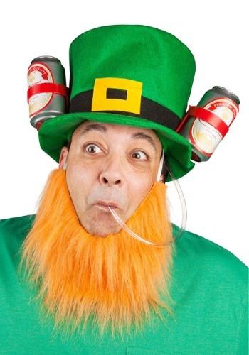 Lucky Leprechaun St. Patrick's Drinking Hat