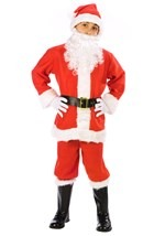 Child Santa Claus Suit Costume