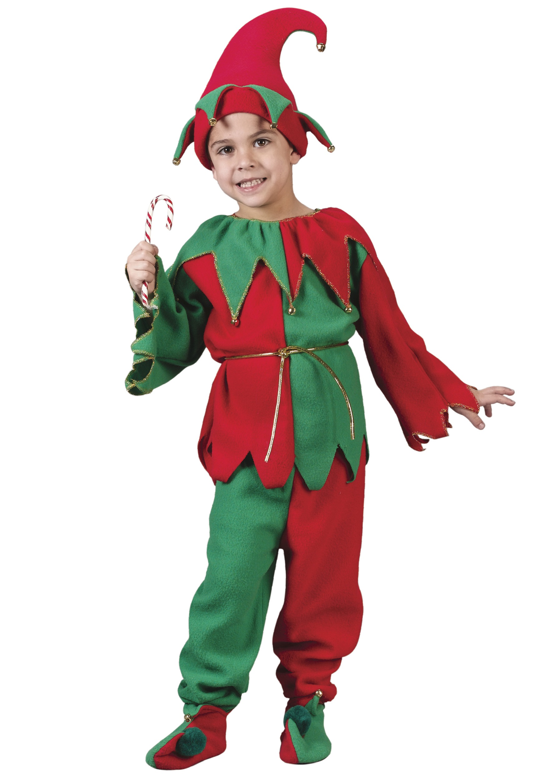 Kids Christmas Elf Costume - Holiday Elf Christmas Costumes