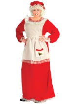 Plus Size Mrs Claus Holiday Costume
