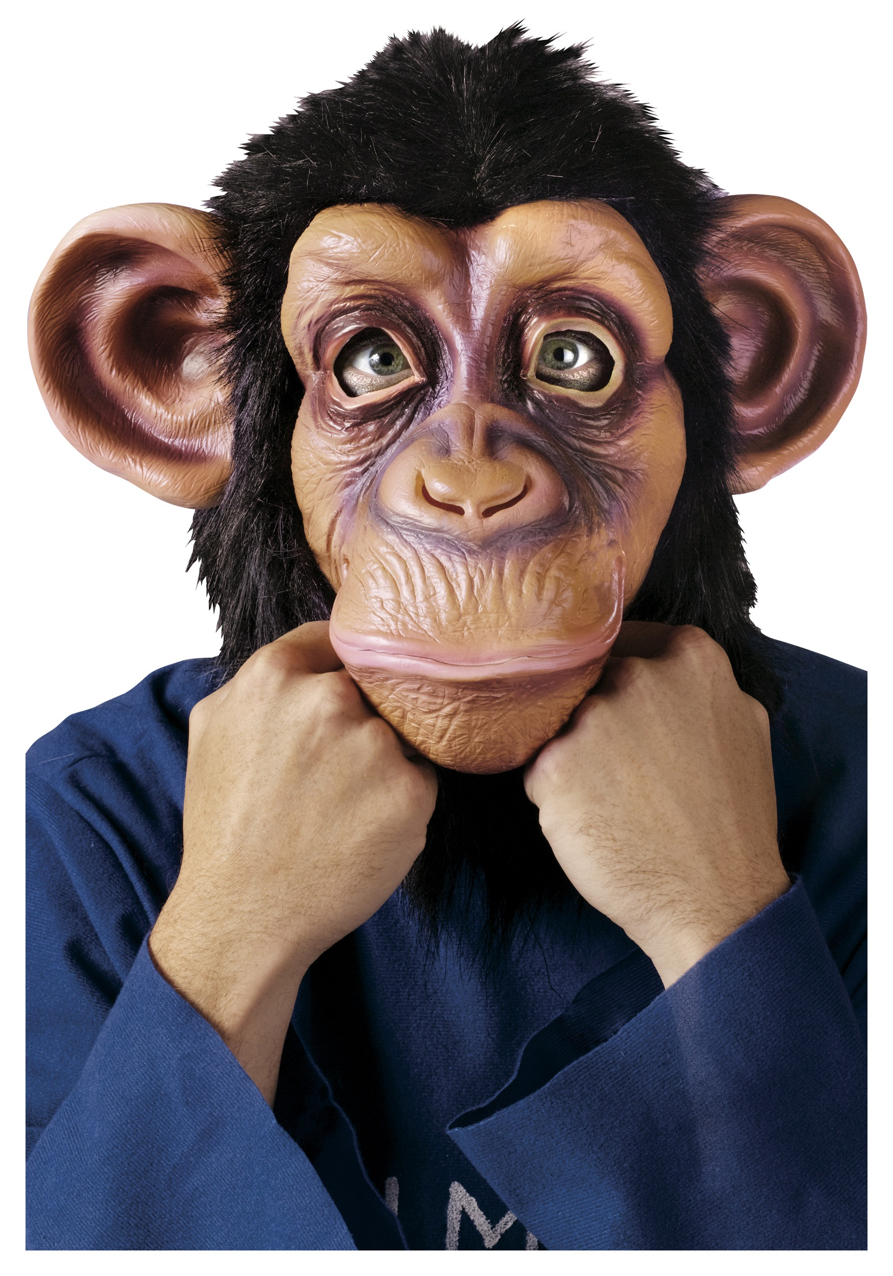 Deluxe Chimpanzee Mask Animal Masks For Halloween