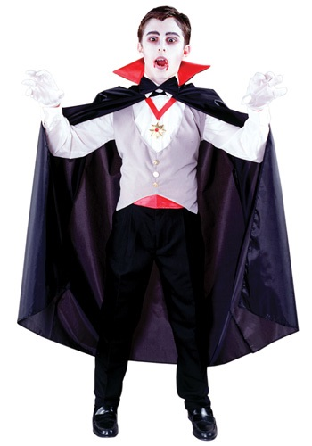 Classic Vampire Boys Costume