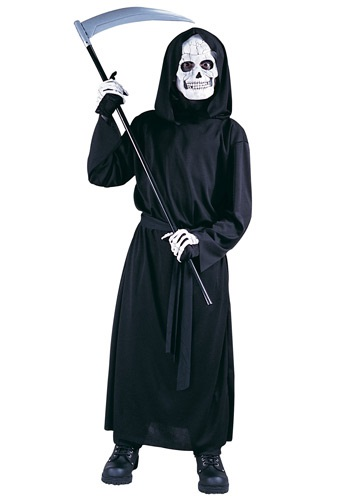 Kids Skeleton Reaper Costume