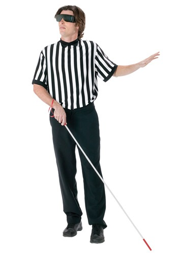Blind Sports Referee Costume