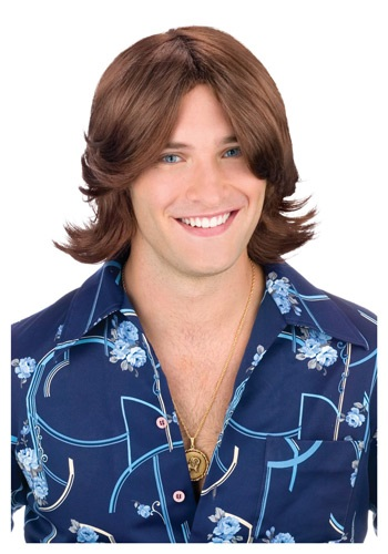 Ladies Man Costume Wig