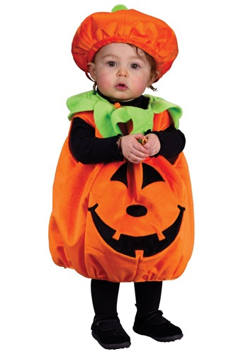 Infant Smiling Pumpkin Costume