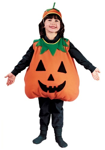Children's Jack-O-Lantern Costume