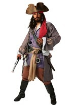 Realistic Caribbean Men's Pirate Costume