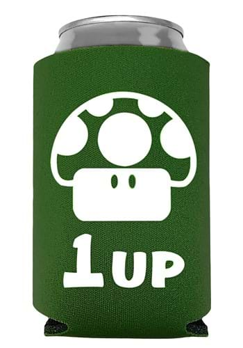 1 Up Super Mario Can Koozie