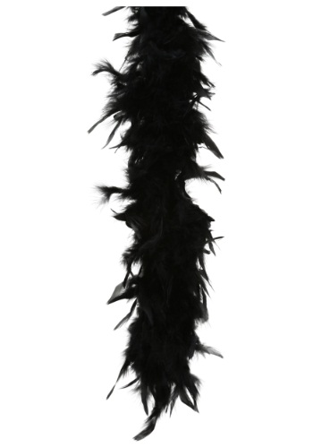 Black Feather Boa 80 Gram