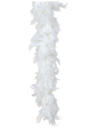 White Feather Boa 80 Gram