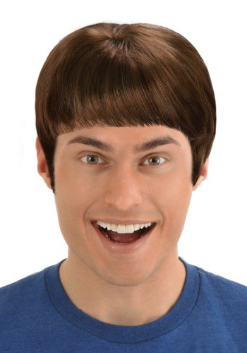 Brown Lloyd Wig