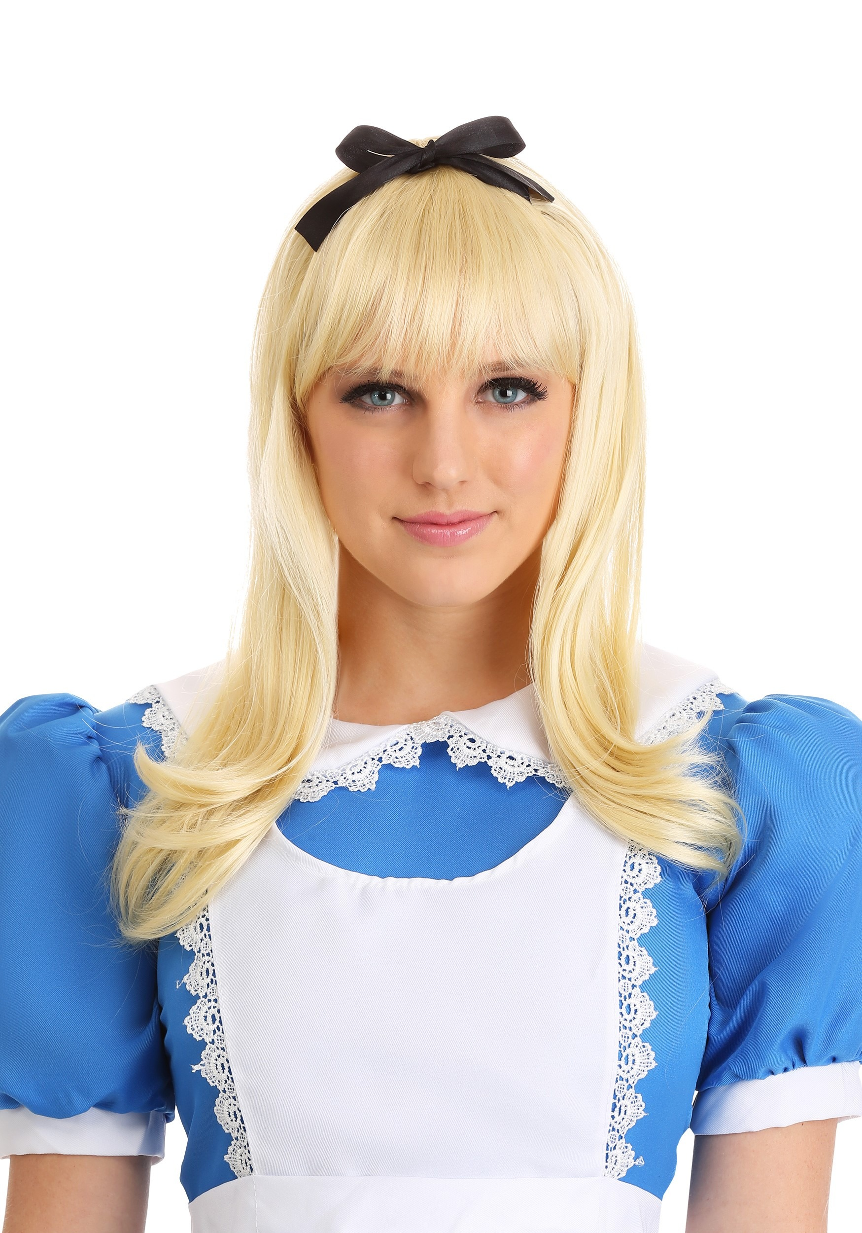 ... in Wonderland Costumes>Alice Costumes>Adult Storybook Alice Wig