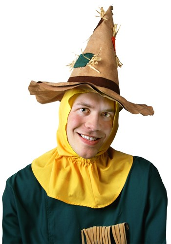 Adult Friendly Scarecrow Hat