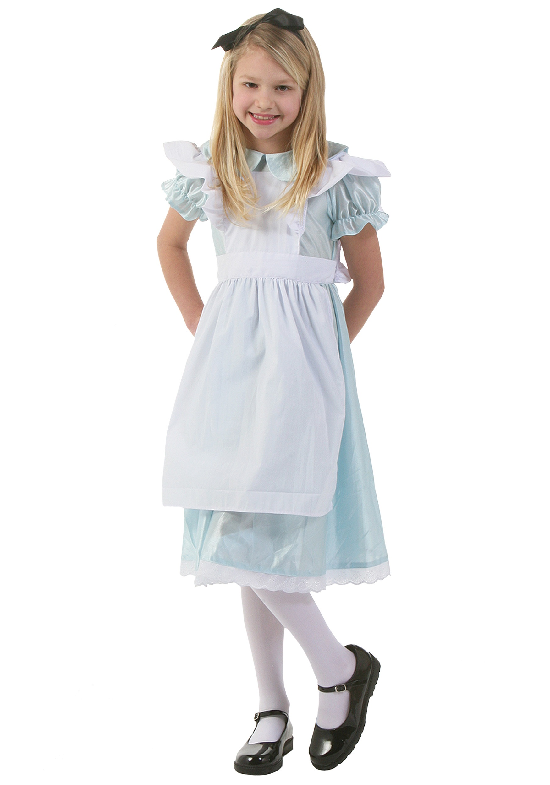 Kids Alice Costume  sc 1 st  Halloween Costume & Kids Alice Costume - Girls Alice in Wonderland Disney Costumes