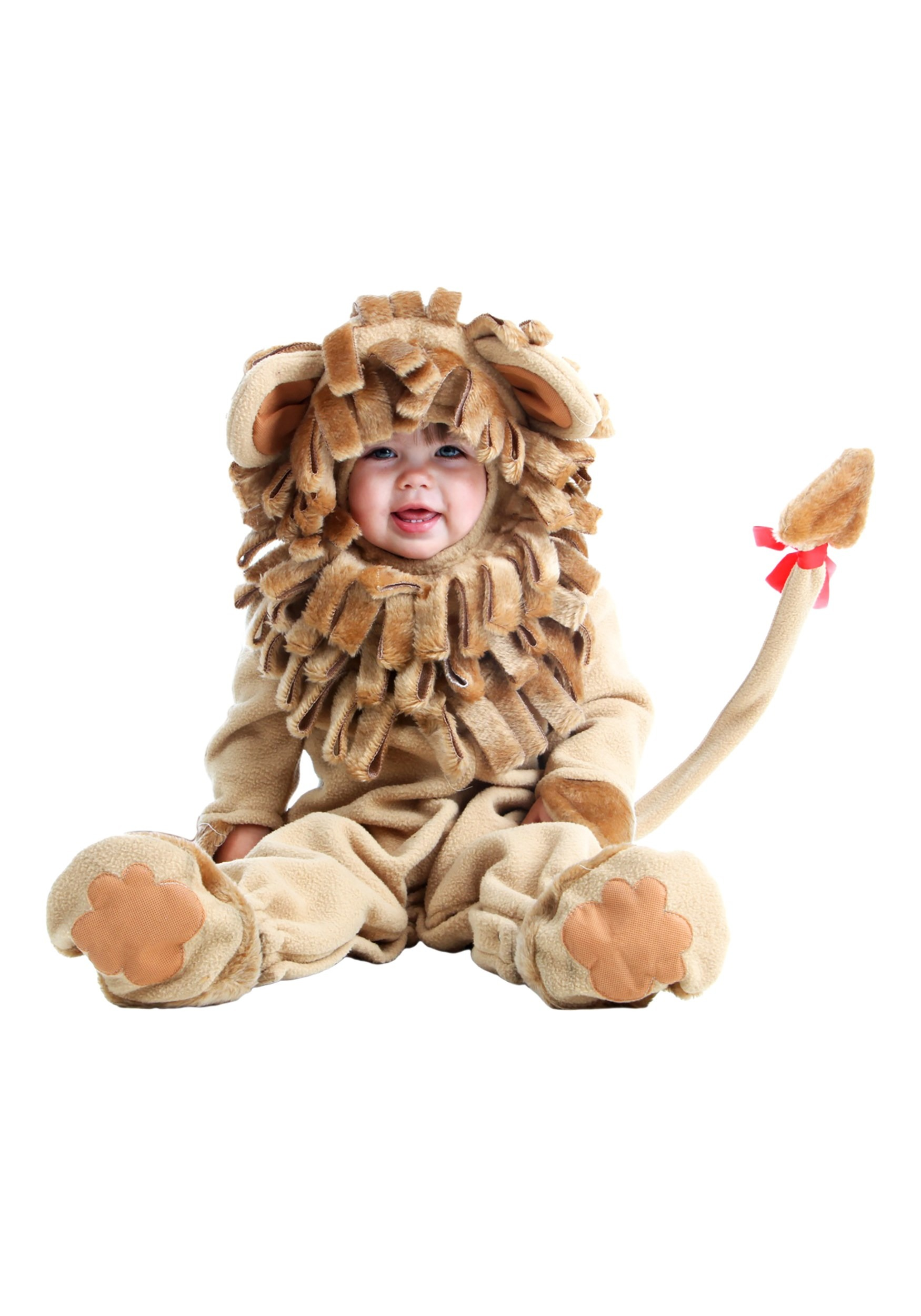 Deluxe Infant Cowardly Lion Costume  sc 1 st  Halloween Costume & Toddler Lion Costume - Infant Cowardly Lion Wizard of Oz Costumes