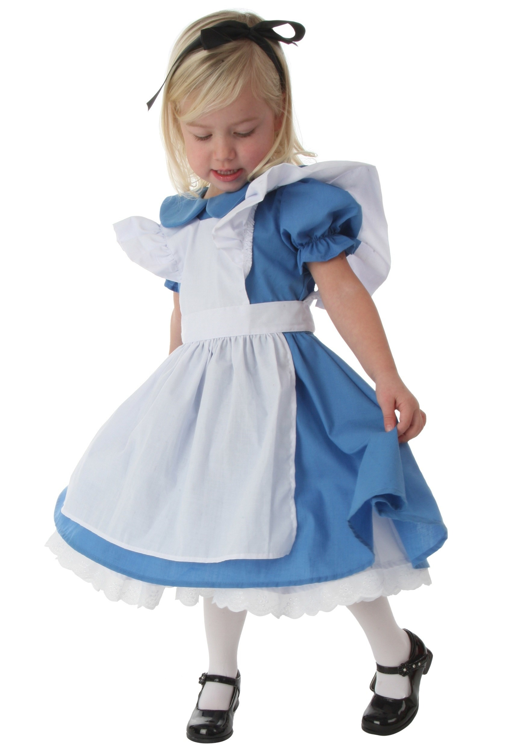 fd56ad9fffb0 Toddler Deluxe Alice Costume - Girls Alice in Wonderland Costumes