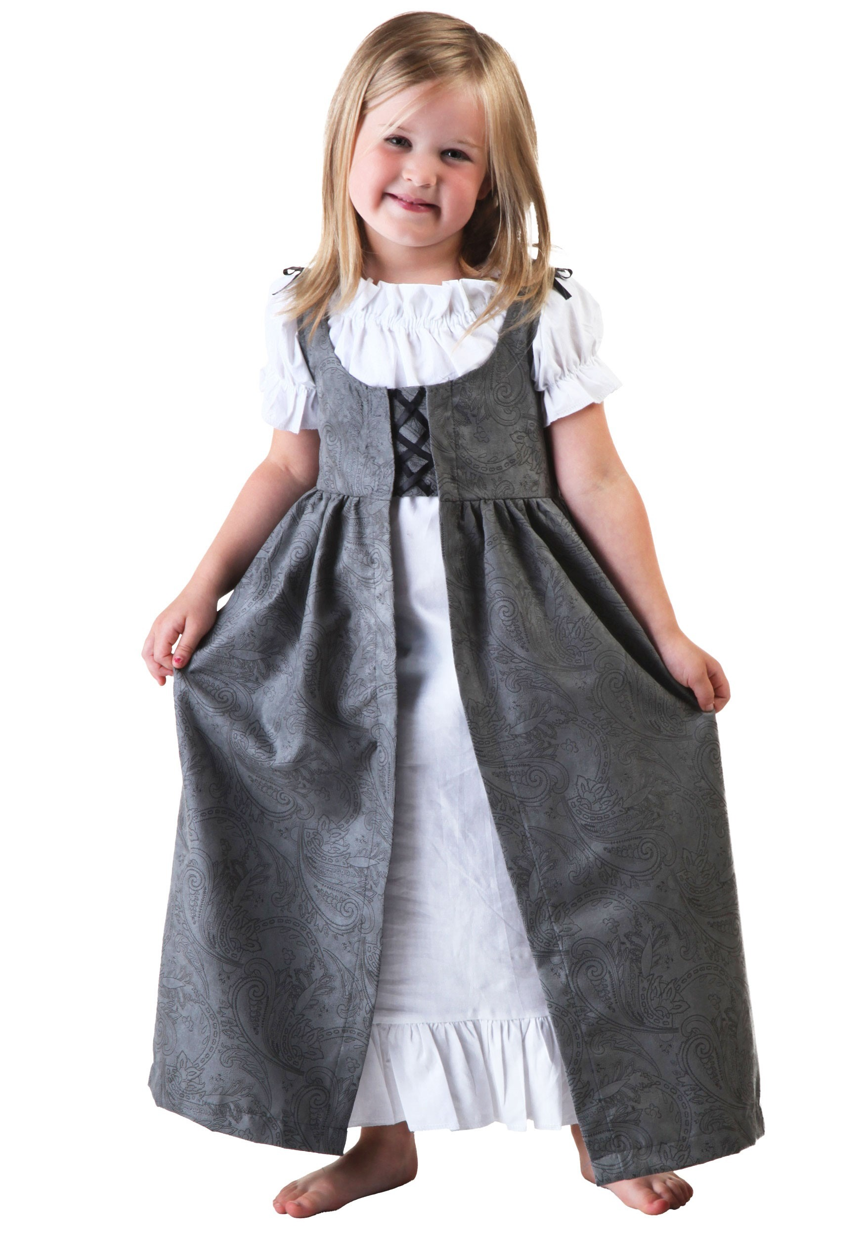 Girls Toddler Renaissance Faire Costume  sc 1 st  Halloween Costume & Girls Toddler Renaissance Faire - Child Renaissance Fair Costumes