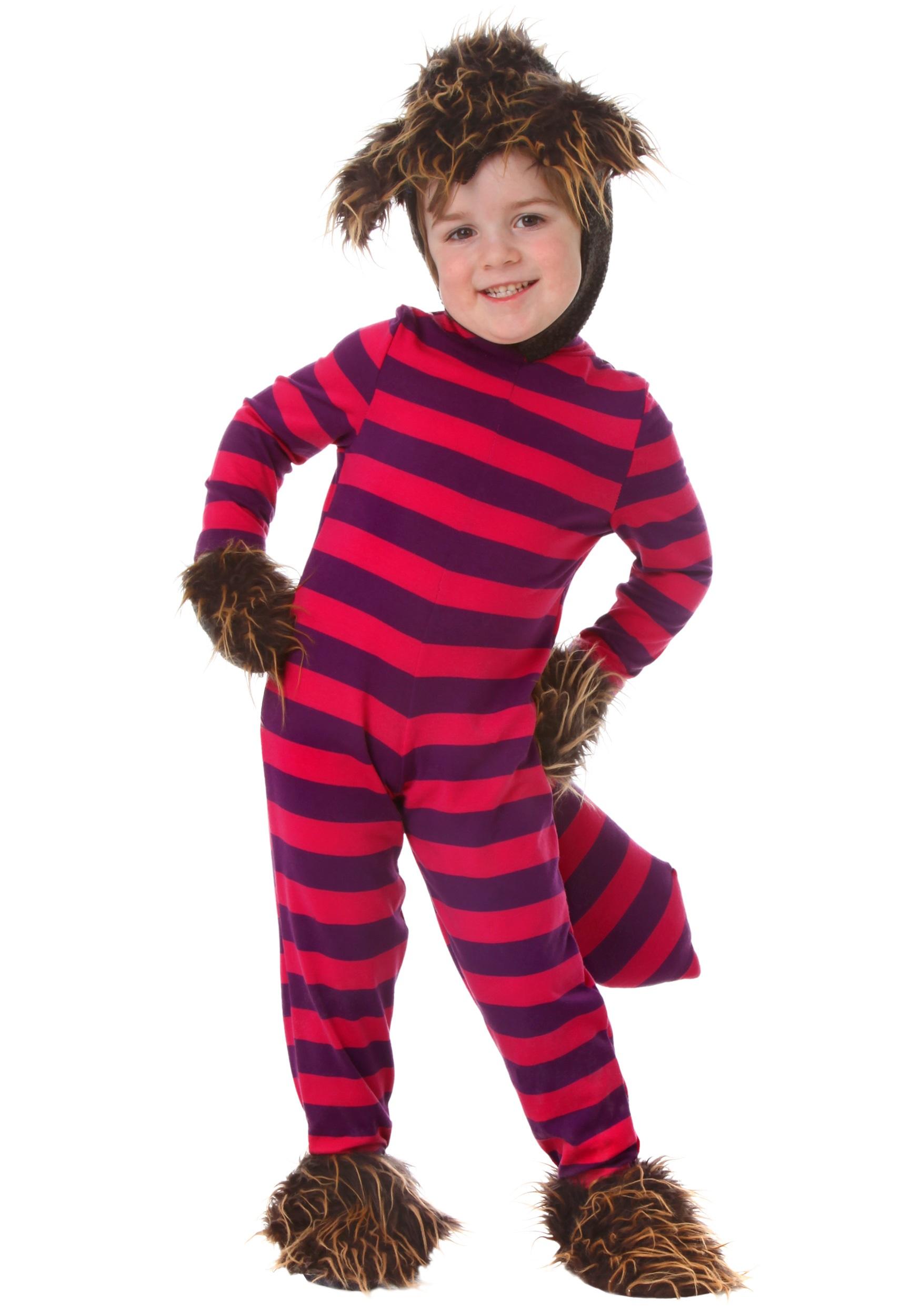 Cheshire Cat Toddler Costume  sc 1 st  Halloween Costume & Cheshire Cat Toddler Costume - Kids Wonderland Cat Costumes
