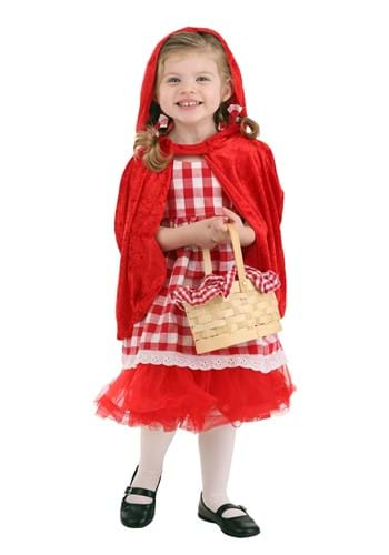 Girls Toddler Red Riding Hood Tutu Costume