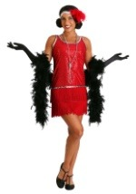 Exclusive Red Sequin Flapper Costume