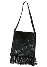 Black Flapper Purse