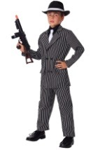 Deluxe Kids Gangster Costume