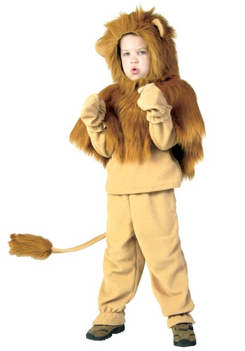 Child Lion Storybook Costume