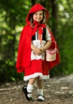 Deluxe Girls Little Red Riding Hood Costume