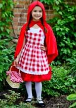 Girls Checkered Red Riding Hood Tutu Costume