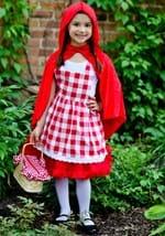 Girls Checkered Red Riding Hood Tutu Costume