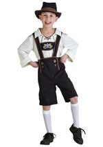 Traditional German Boy Costume