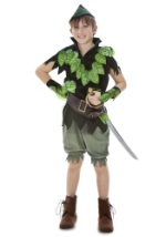Deluxe Peter Pan Kids Costume