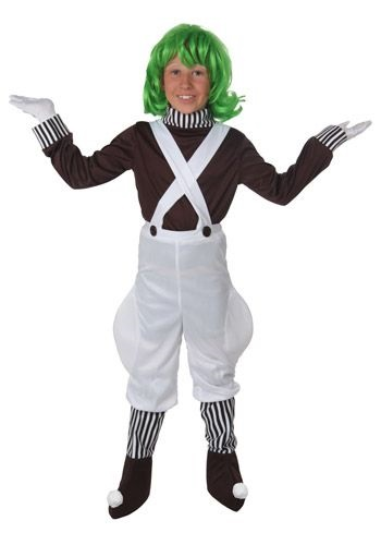 Boys Chocolate Factory Worker Costume