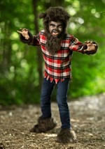 Kids Furry Werewolf Costume