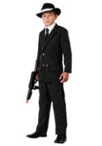 Child Deluxe Pinstripe Gangster Suit