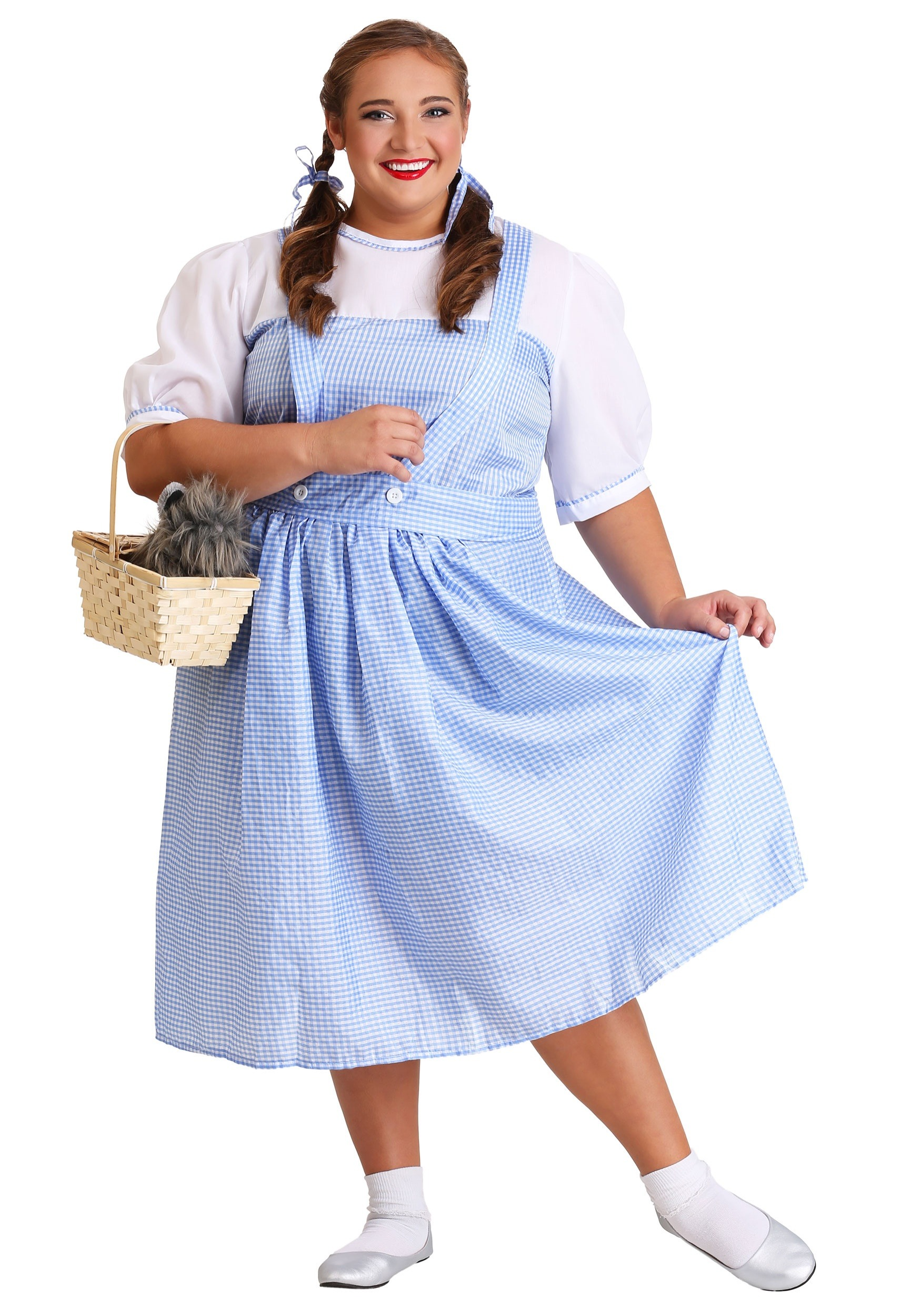Plus Size Wizard of Oz Dorothy Costume  sc 1 st  Halloween Costume & Plus Size Wizard of Oz Dorothy Costume - Adult Wizard of Oz Costumes