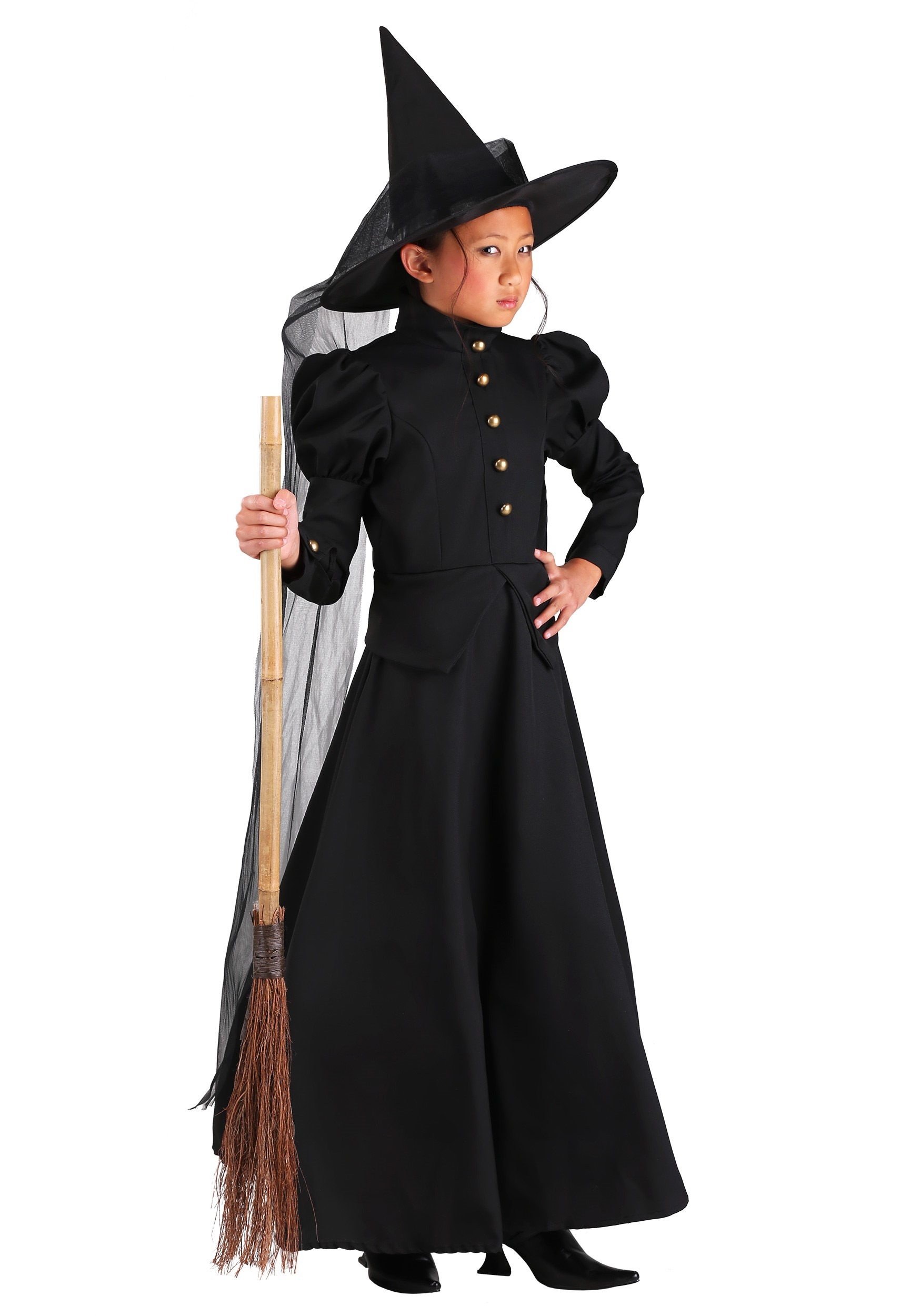 Witch Costumes - Adult, Child, Women's Halloween Witch Costume