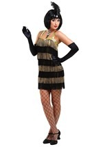 Black & Gold Flapper Costume