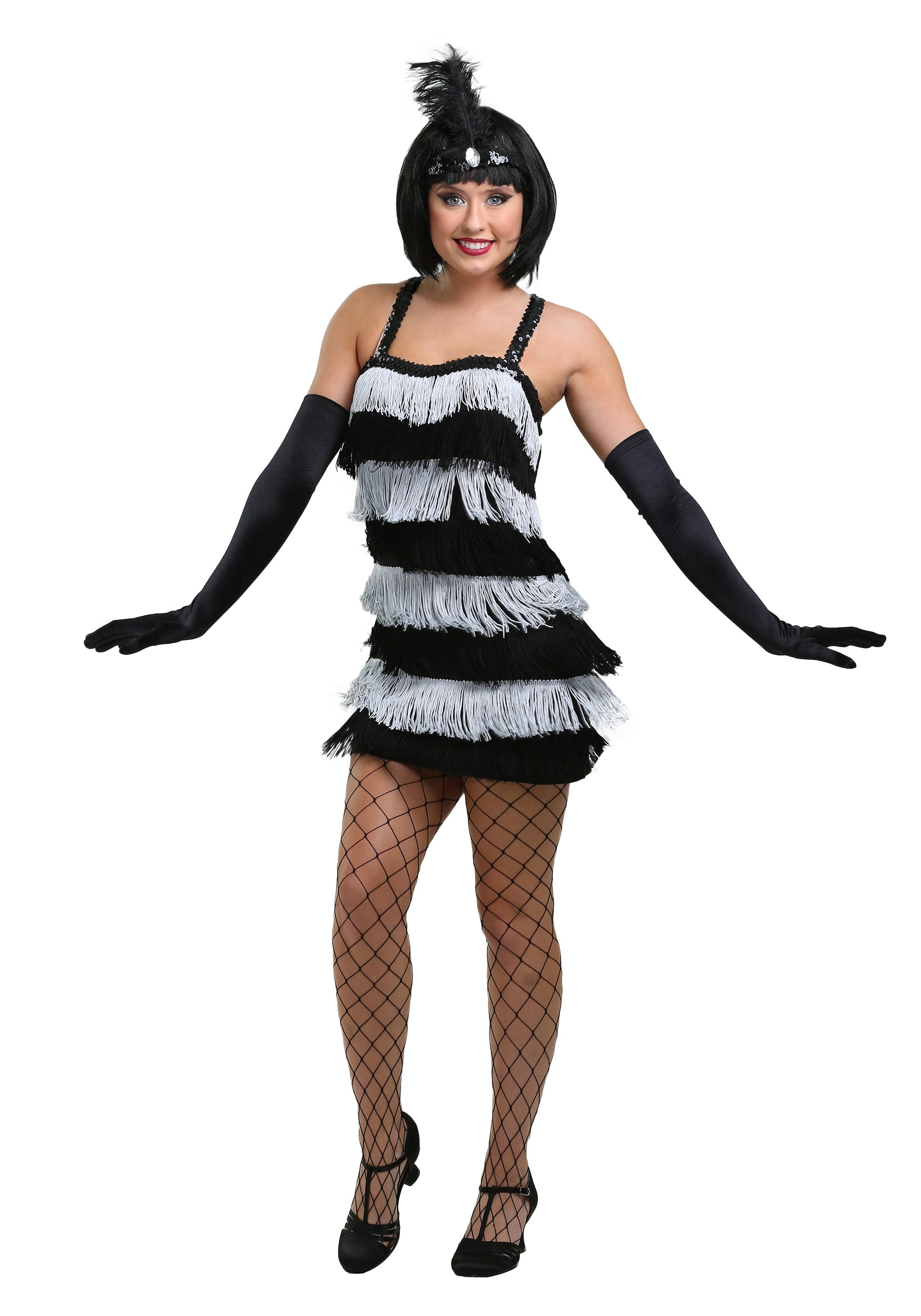 24cdd5e30 Jazz Time Flapper Costume - Adult Womens 1920s Flapper Costumes