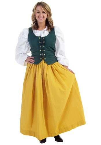 Peasant Skirt Gold