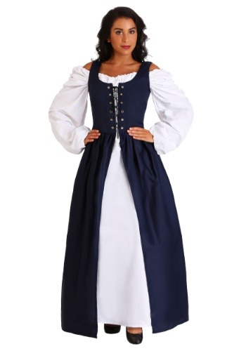 Navy Renaissance Dress